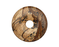 Picture Jasper Donut 40mm