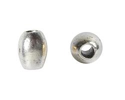 Nunn Design Antique Silver (plated) Rice 8x6mm
