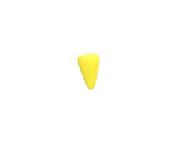 Czech Glass Yellow Baby Spike 4.5x8mm