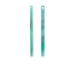 Zola Elements Emerald Marbled Acetate Stick Drop 3x39mm