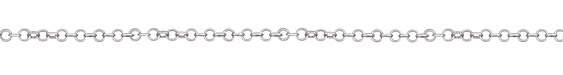 Antique Silver Finish Cable Chain, 32ft Spool