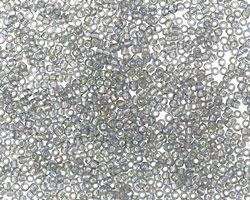 TOHO Transparent Rainbow Black Diamond Round 15/0 Seed Bead