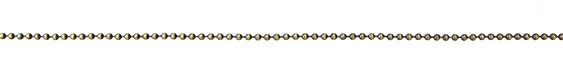Antique Brass (plated) Ball Chain (bulk discount)