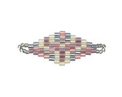 Lilacs Hand Woven Diamond 32x13mm