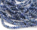 Kyanite Faceted Round 3mm