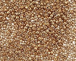 TOHO Permanent Galvanized Almond Round 11/0 Seed Bead