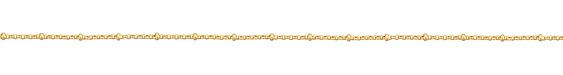 Satin Hamilton Gold (plated) Rollo Satellite Chain 25' spool
