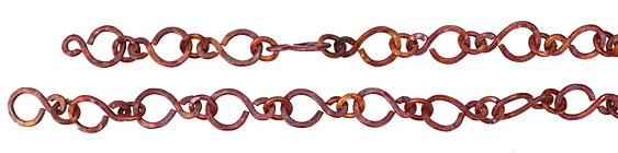 "Patricia Healey Copper Large ""S"" Link Chain 16x24mm, 20"""