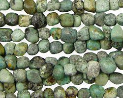African Turquoise Mini Tumbled Nugget 5-6mm