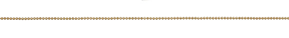 Satin Hamilton Gold (plated) Diamond Cut Ball Chain