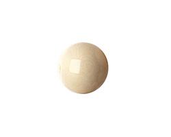 Tagua Nut Cream Round 16mm