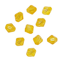 Sunshine Faceted Bicone 6mm