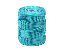 C-Lon Ice Blue Tex 400 (1mm) Bead Cord