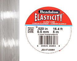 Elasticity Clear .5mm, 5 meters