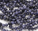 Blue Sapphire Faceted Round 4mm