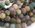 Fancy Jasper (matte) Round 8mm