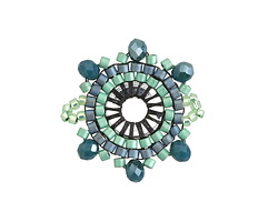 Marina Hand Woven Radiant Focal Link 21mm