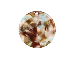 Zola Elements Mermaid Acetate Coin Focal 30mm