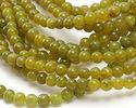 Olive Jade Round 4mm