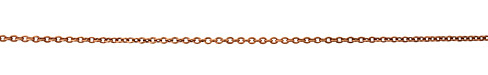 Antique Copper (plated) Small Cable Chain
