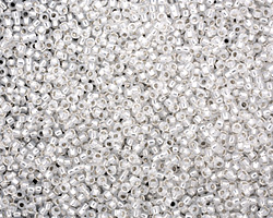 TOHO Milky White (with Silver Lining) Round 15/0 Seed Bead