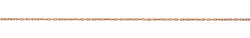 Antique Copper (plated) Stringing Cable Chain