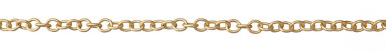 Matte Gold (plated) Heavy Cable Chain