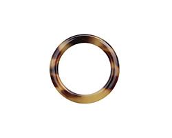 Zola Elements Light Tortoise Shell Acetate Ring 24mm
