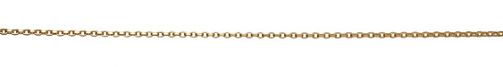 Satin Hamilton Gold (plated) Square Wire Cable Chain