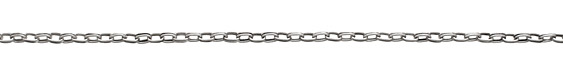 Antique Silver (plated) Double Oval Cable Chain