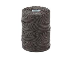 C-Lon Charcoal (.5mm) Bead Cord