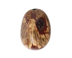 Tagua Nut Black Nugget 40-45x32-36mm