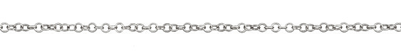 Silver Finish Cable Chain, 32ft Spool