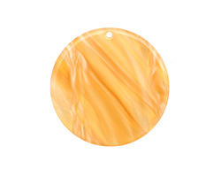 Zola Elements Honeycomb Acetate Coin Focal 30mm