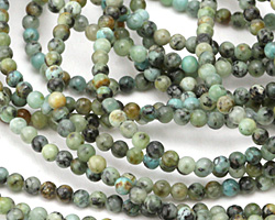 African Turquoise Round 3mm