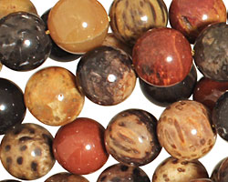 Palm Jasper Round 10-11mm