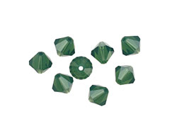 Swarovski Palace Green Opal Faceted Bicone 6mm (5301)