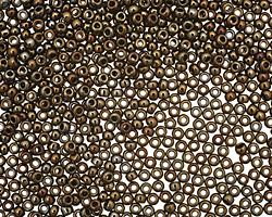 TOHO Metallic Iris Brown Round 11/0 Seed Bead