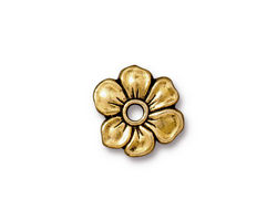 TierraCast Antique Gold (plated) Apple Blossom Rivetable 20mm