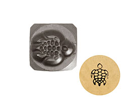 Sea Turtle Metal Stamp 5mm