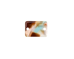 Zola Elements Mermaid Acetate Rectangle Link 14x10mm
