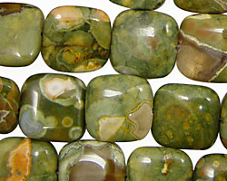 Rhyolite Puff Square 14mm