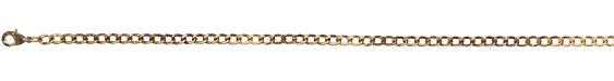"Vintaj Vogue Finished Curb Chain 8"""