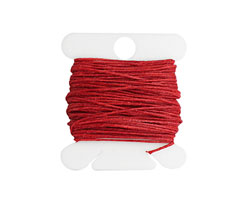 Country Red Irish Waxed Linen 3 ply