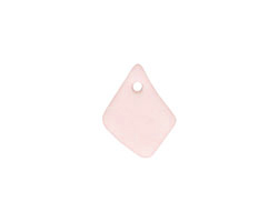 Blossom Pink Recycled Glass Small Freeform Drop 6-12x11-15mm