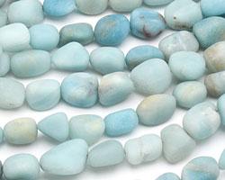 Amazonite (matte) Tumbled Nugget 12-18x12-14mm