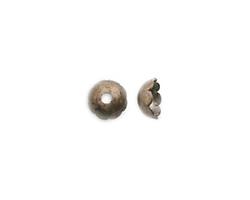 Vintaj Natural Brass Scalloped Bead Cap 6mm