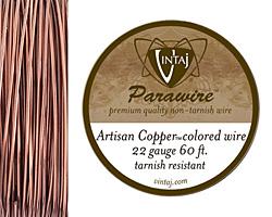 Vintaj Artisan Copper Parawire 22 gauge, 60 feet