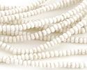 African Trade Beads Vanilla Glass 3-5x3-5mm