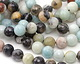 Black Gold Amazonite Faceted Round 10mm